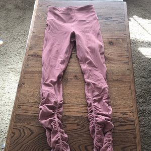 Lululemon legging size 2 blush pink